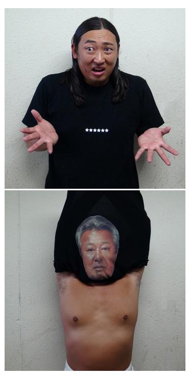 新商品】ロバート秋山 「BOTY」体モノマネオフィシャルTシャツ